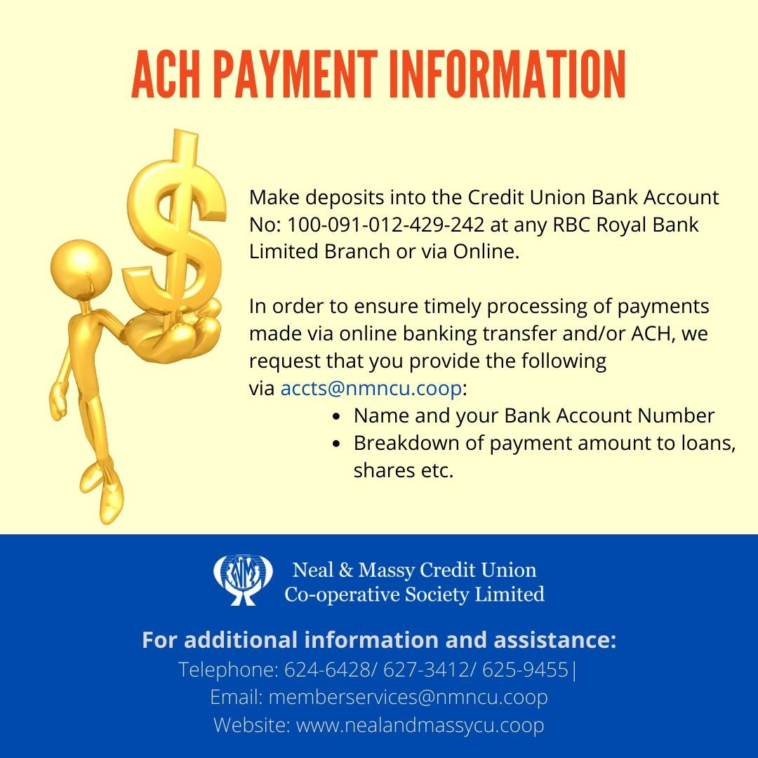 ACH Payment Information