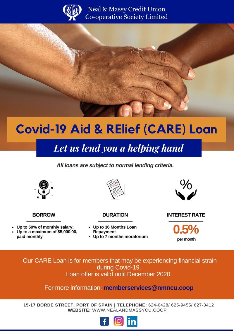 Covid-19 Aid & RElief (CARE) Loan